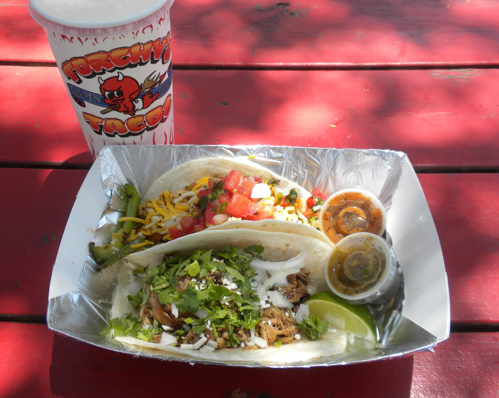 Since it was the most recommended must-do from Dwell Twitter followers (from the likes of @sarahrich, @ladygodiva1234, and @bayne16thstate, among others), Torchy's was my truck of choice. The gal at the counter recommended a green chili pork taco and a chicken fajita taco (though I wished I'd had had room for a fried avocado taco, too!).  Three Days in Austin, Texas by Miyoko Ohtake