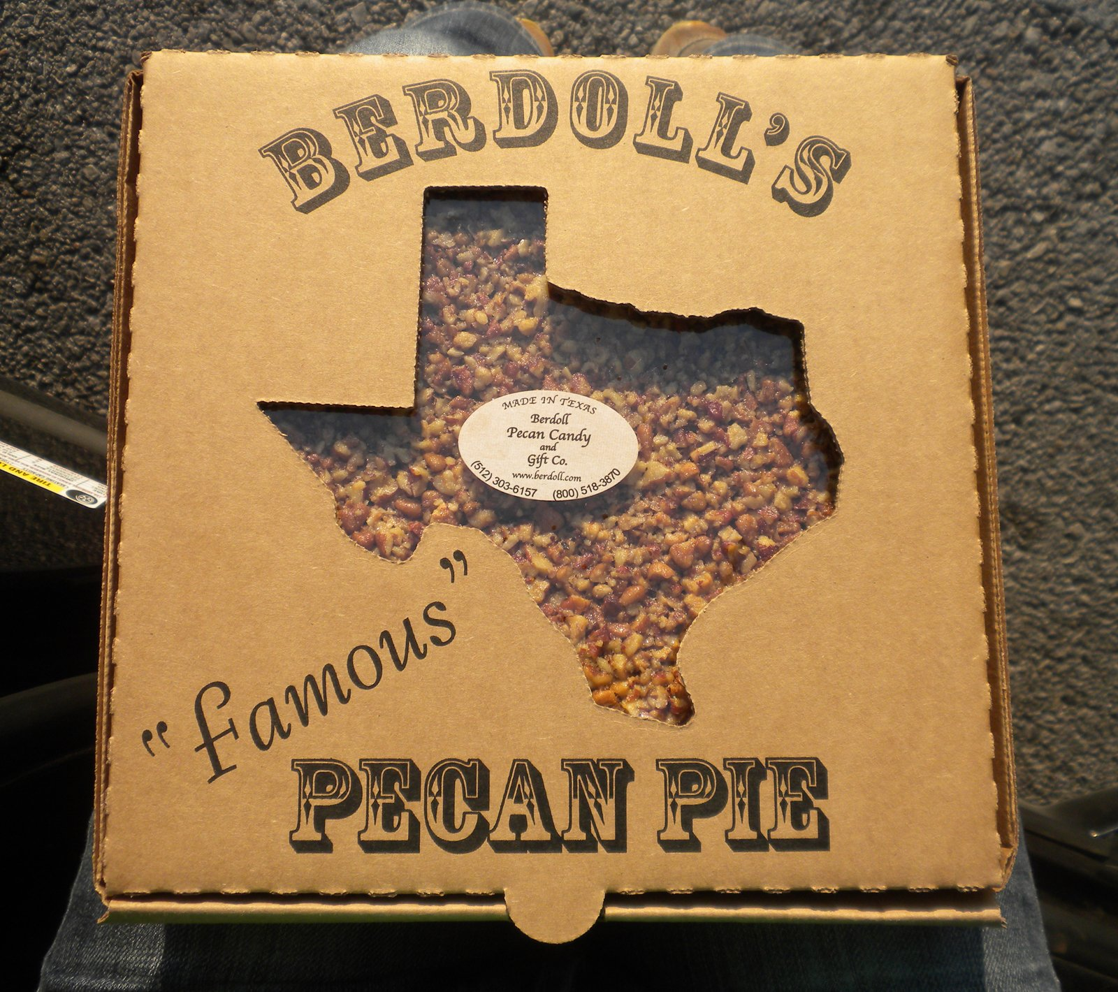 "Before I headed out to the 9E Ranch, a friend mentioned I'd likely pass by somewhere that I had to stop: the Berdoll Pecan Farm. On my way back to Austin on Saturday night I arrived at its shop on Highway 71 just in the nic of time to pick up one of its ""famous"" pecan pies.  Three Days in Austin, Texas by Miyoko Ohtake"