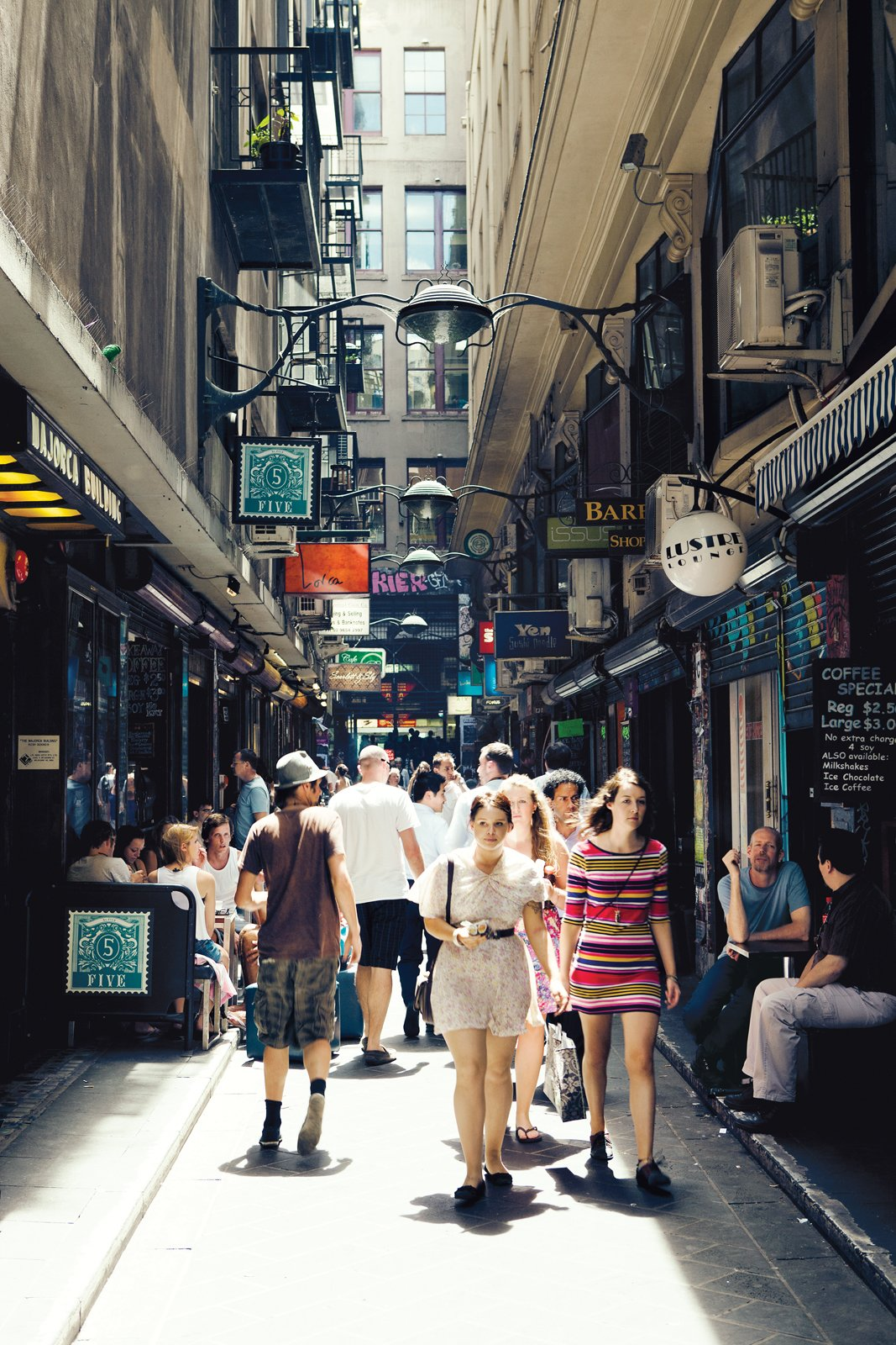 Laneway, Centre Place and Flinders Lane  Photo 6 of 24 in Exploring Melbourne, Australia