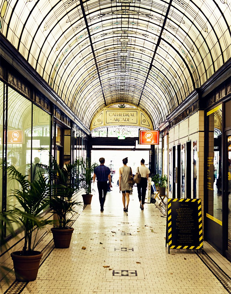 Cathedral Arcade (37 Swanston Street, mall where Alice Euphemia is located)  Photo 13 of 24 in Exploring Melbourne, Australia