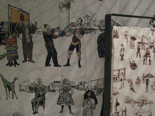 Sideshow! textiles by Richard Saja at The Future Perfect.