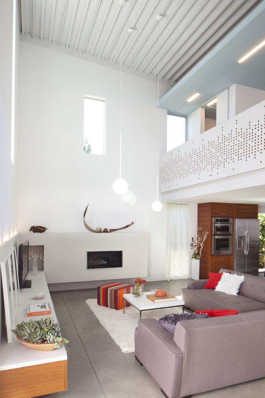 Baldwin Hills, Living room  Frank Vafaee of Proto Homes by Miyoko Ohtake
