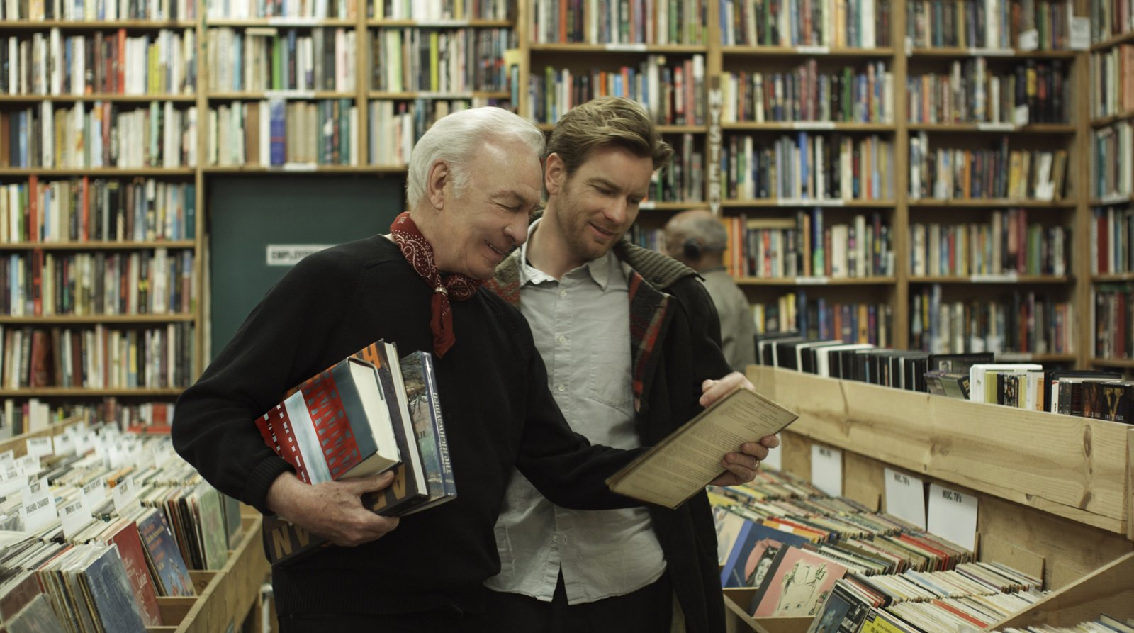 """Academy Award nominee Christopher Plummer (left) and Ewan McGregor (right) star as father and son in writer/director Mike Mills' BEGINNERS, a Focus Features release.  Photo credit: Focus Features  Photo 6 of 6 in Mills & McGregor on """"Beginners"""""""