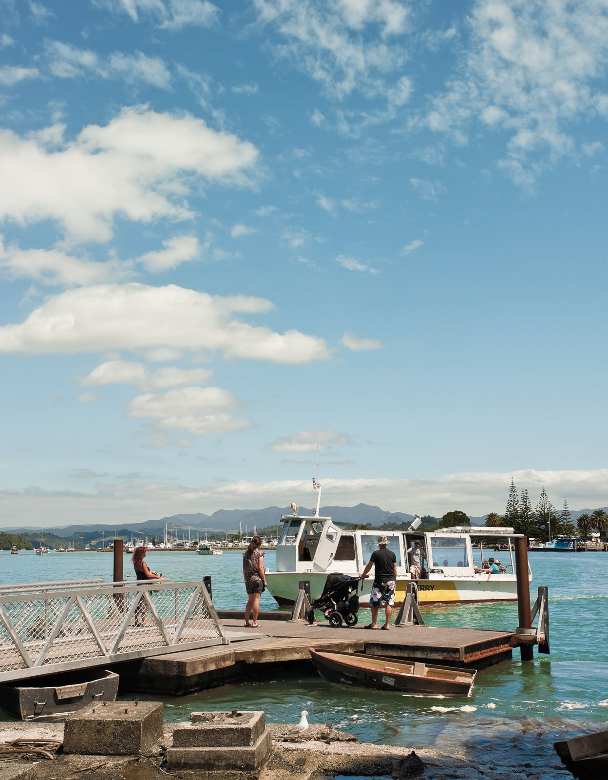 A short walk down the road, a ferry service carries passengers on the two-minute journey across the channel to the small town of Whitianga.  Photo 7 of 25 in Make Your Parents Happy by Building Them a House