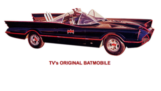 The Batmobile designed by George Barris.