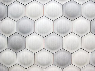 Lastly, I have to mention one other small booth, one that I spent about 10 minutes touching everything inside it. Daniel Ogassian is a Los Angeles based industrial designer who creates these geometric tiles, which in my opinion, are stunning.