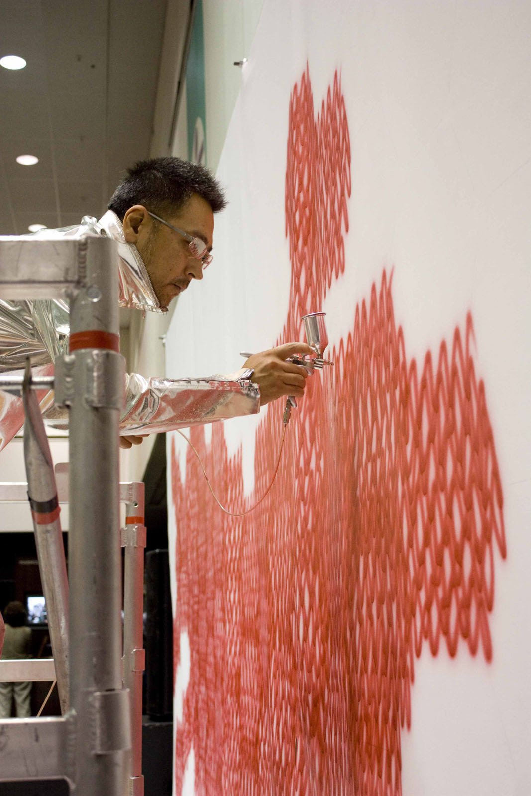 """Sasaki at work.  Search """"the work of asher israelow"""" from From the Show Floor: Sasaki"""