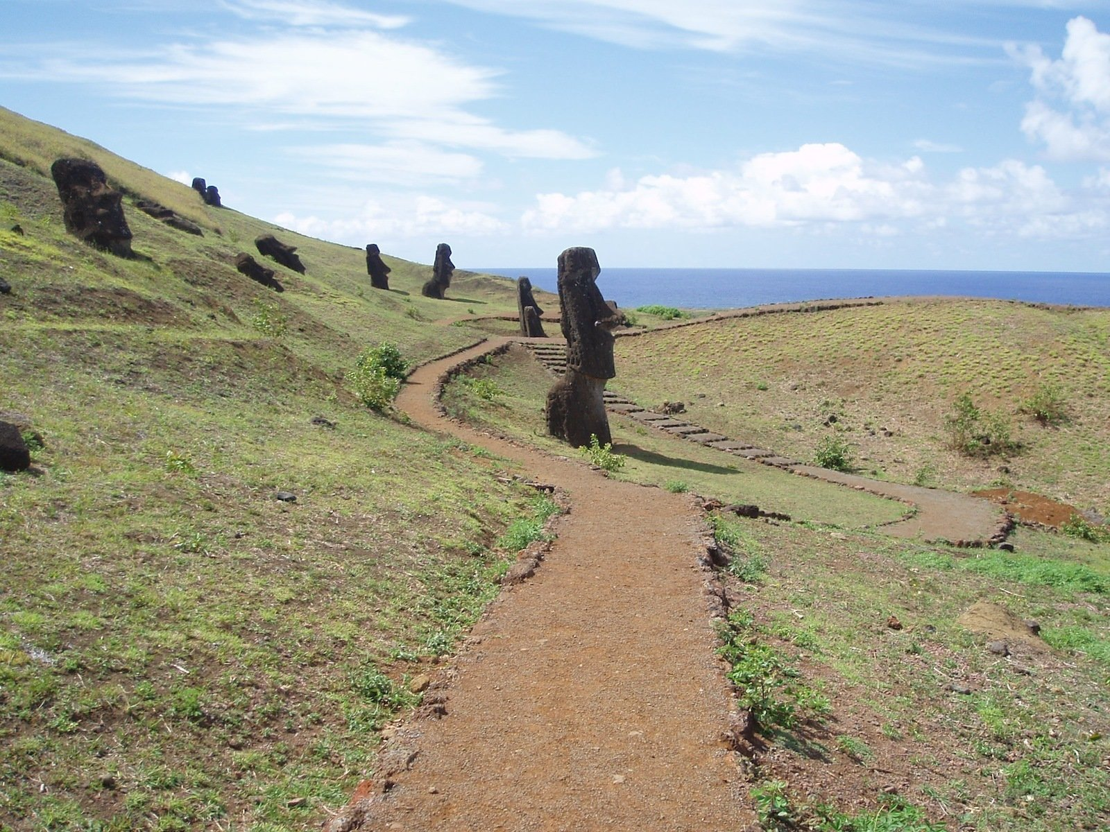 "The island is also known for its many archaeological sites, which offer evidence of a highly developed culture—whose descendants still inhabit the island.  Search ""culture"" from Easter Island's Visitor's Center"
