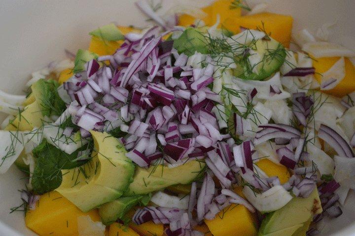 "Chopped vegetables for Avocado, Mango, and Fennel Salad. Photo courtesy amyskitchentable.com.  Search ""평창출장마사지-출장안마-출장-출장서비스 평창콜걸 출장샵 { ㅋr톡bc221 } 주소{ ☻sannhu,com } 평창 출장여대생 만남 출장만남 업소 타이마사지 출장샵추천 업소 평창출장샵 출장서비스 출장업소"" from Avocado, Mango & Fennel Salad"
