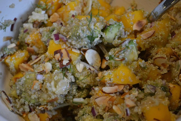 "Mmm... the final results, ready for enjoying. Photo courtesy amyskitchentable.com.  Search ""∞ωωω˛UUDAT12˛cOM∞강서오피◈◐인간미+있는◑강서키스방❁강서오피☢강서휴게텔ª강서마사지➝강서출장つ강서핸플"" from Avocado, Mango & Fennel Salad"