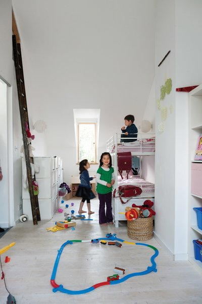 Best 14 Modern Kids Room Concrete Floors Design Photos And Ideas - Dwell