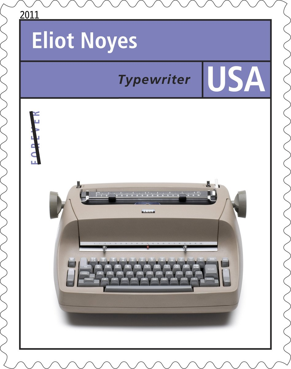 Here's the Selectric stamp.  Photo 3 of 3 in IBM Selectric Turns 50