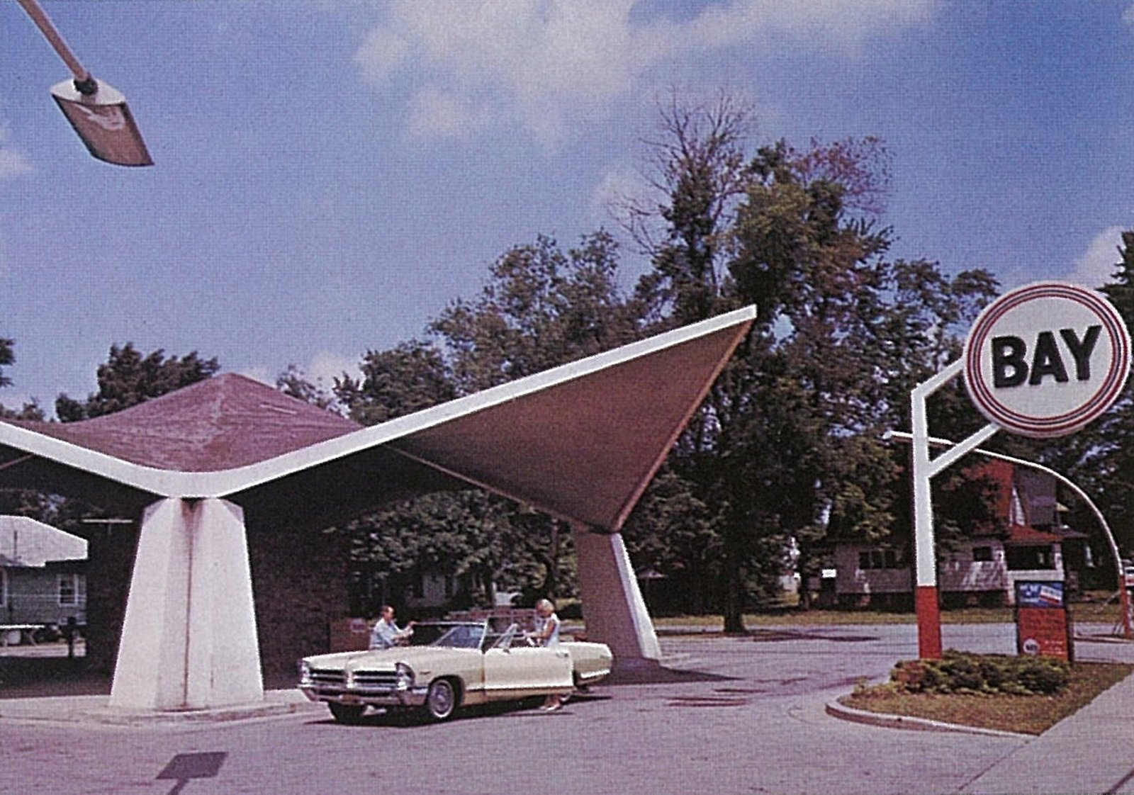 The Bay Service Center was a bit of an oddity in the Dow canon, but the 1961 structure made of Styrofoam and concrete still stands today.  Photo 27 of 28 in Hometown Hero