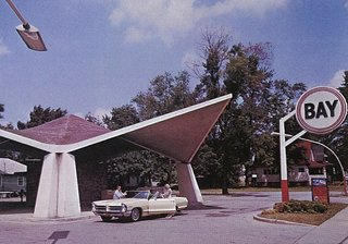 The Bay Service Center was a bit of an oddity in the Dow canon, but the 1961 structure made of Styrofoam and concrete still stands today.