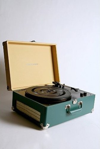 The Crosley AV Room Portable USB Turntable prices at $160.00.  Photo 2 of 5 in Record Revival