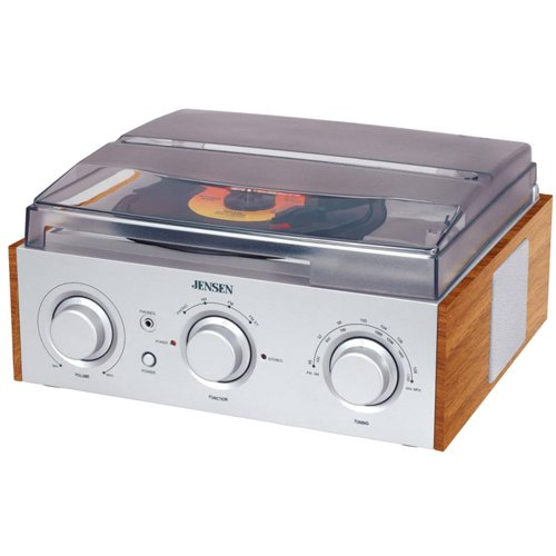 The Jensen 3-Speed Stereo Turntable.  Photo 3 of 5 in Record Revival