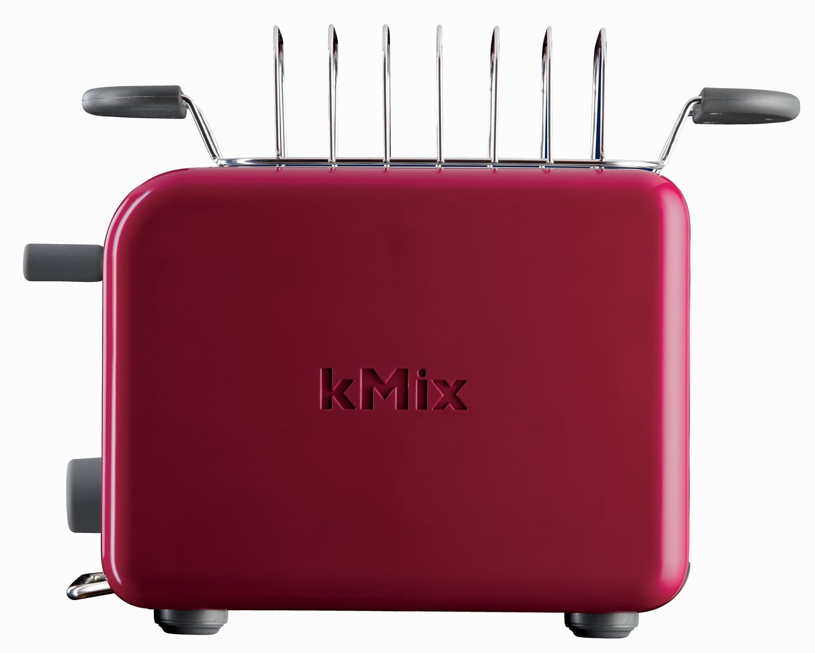 The toaster also features a stainless steel bun warmer and toast rack.  Photo 3 of 9 in kMix by De'Longhi