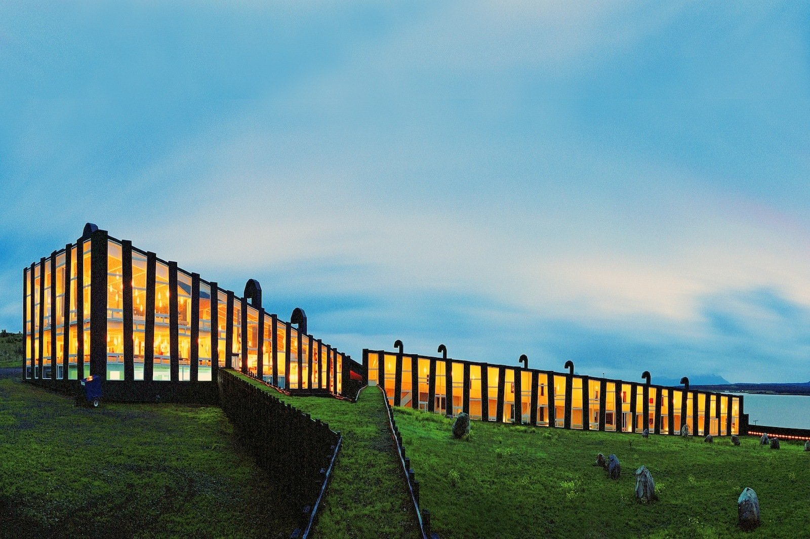 Puerto Natales, Patagonia, Chile; Remota Hotel, designed by German del Sol  Best