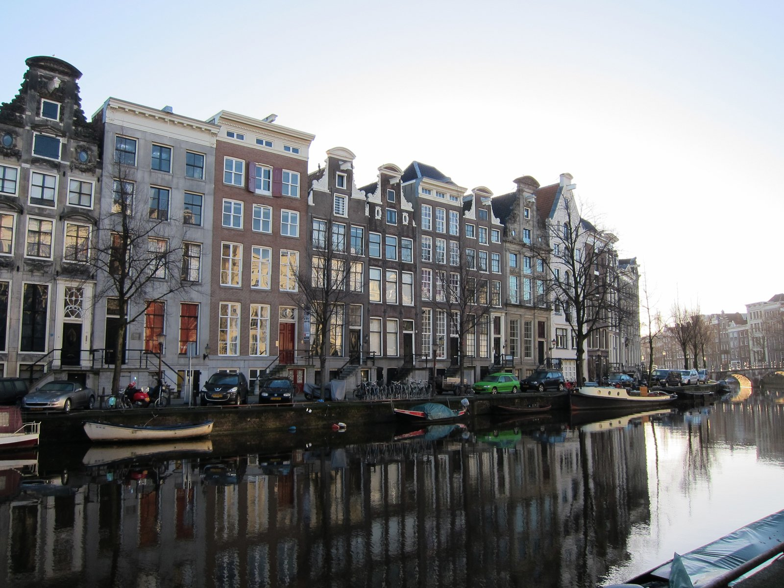"Here's what the surrounding neighborhood looks like. The hotel overlooks the center canal, the Keizersgracht, and is set within the ""grachtengordel,"" the city's central canal-ring, within walking distance of the charming shops of the Nine Streets district.  The Dylan, Amsterdam by Jaime Gillin"