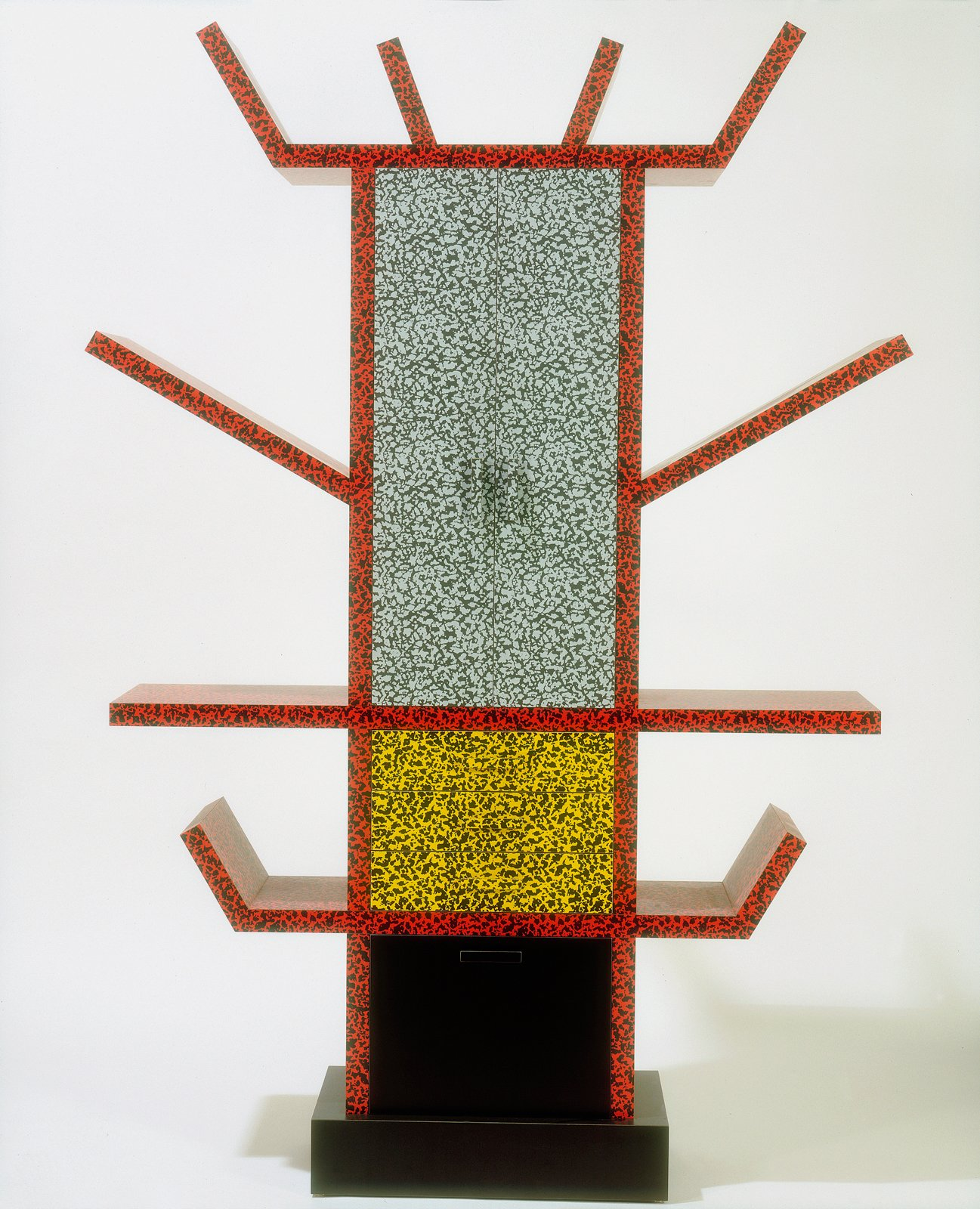 """Ettore Sorrsass (for Memphis), Casablanca sideboard, 1981. Plastic laminate over fibreboard. © V&A Images  Photo 9 of 12 in """"Postmodernism"""" at the V&A Museum"""