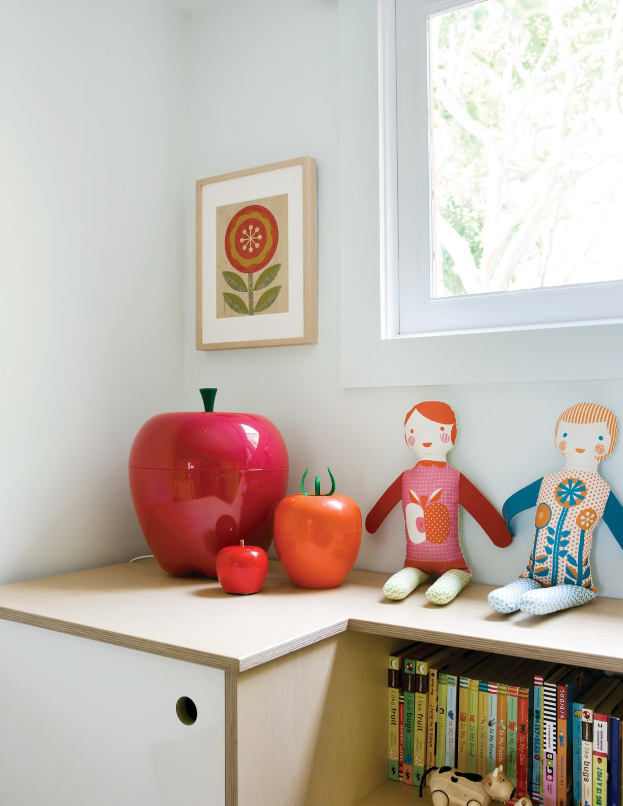 Kids Room and Bedroom Room Type  Photo 8 of 10 in A Couple Tackles Conversion Challenges and Builds a Modern Renovation