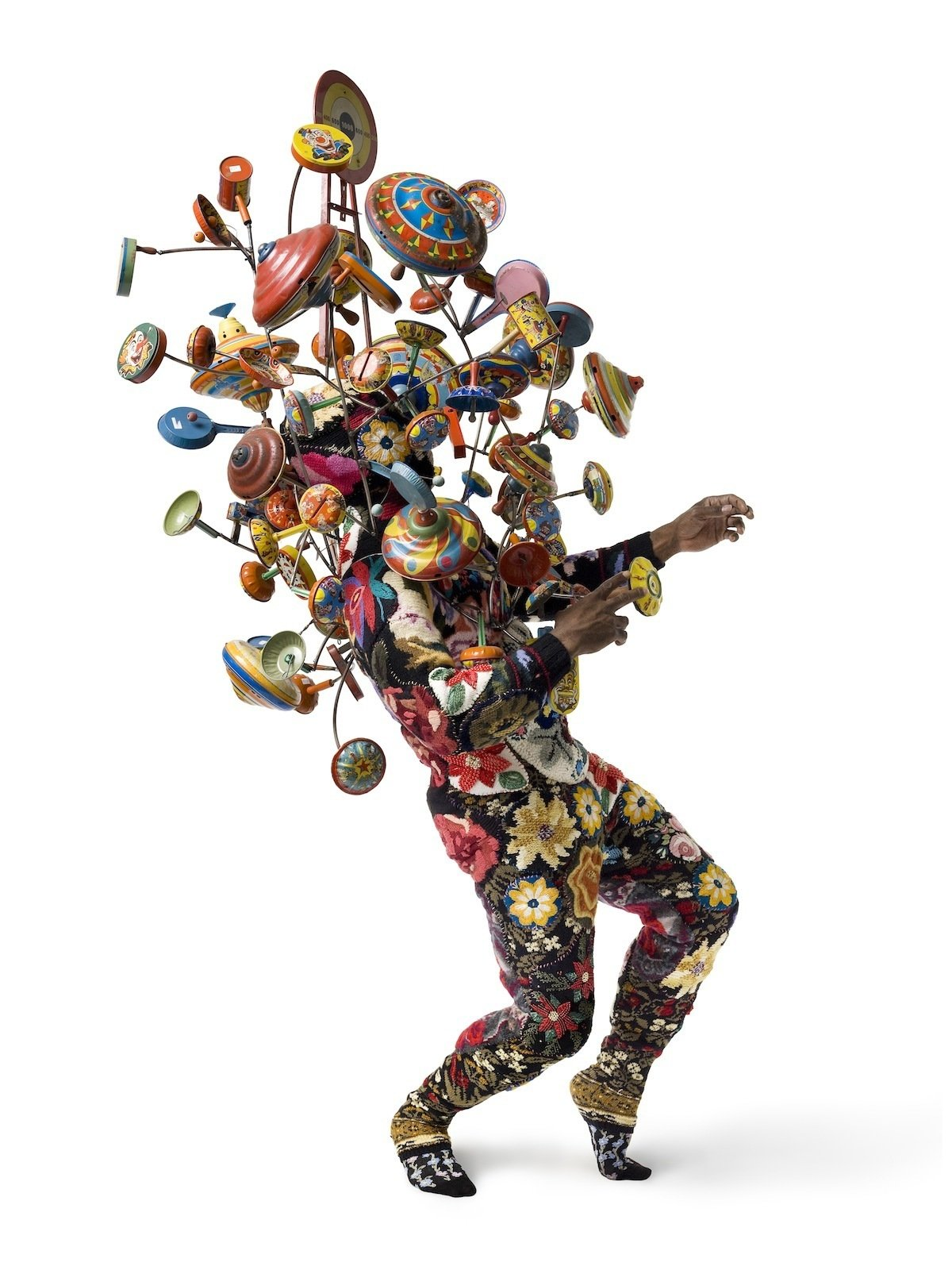 Artspace Soundsuit #1, by Nick Cave, one of Levene's favorite pieces currently available on the site.  Photo 2 of 6 in Q&A with Artspace Founder