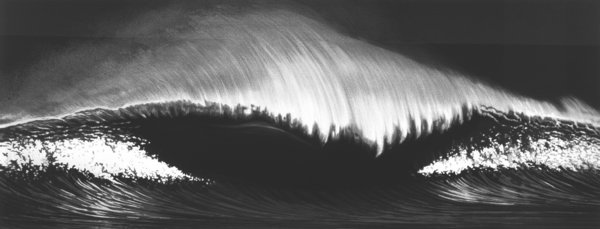 Wave, by Robert Longo