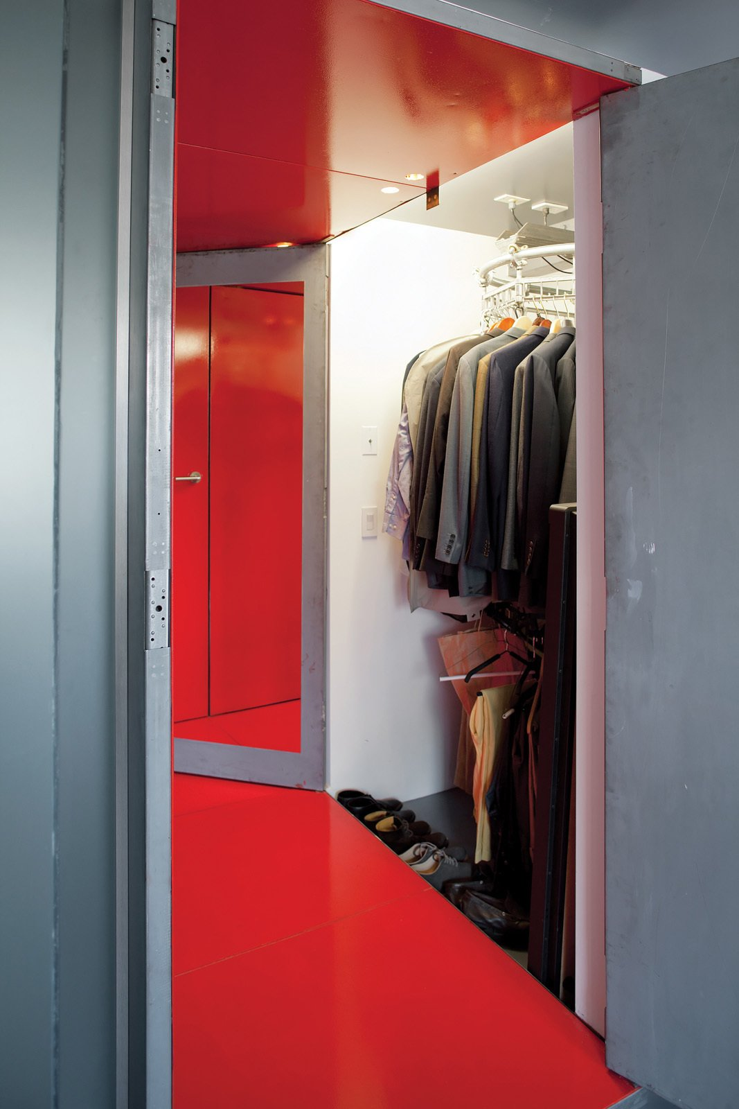Storage Room And Closet Storage Type A Specialty Hanging System Was Created  For A Long,