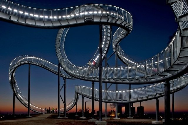 Tiger & Turtle Magic Mountain in Dusiburg, Germany, by Heike Mutter and Ulrich Genth.  Photo 1 of 5 in Friday Finds 11.18.11