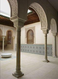 The Met's Moroccan Court