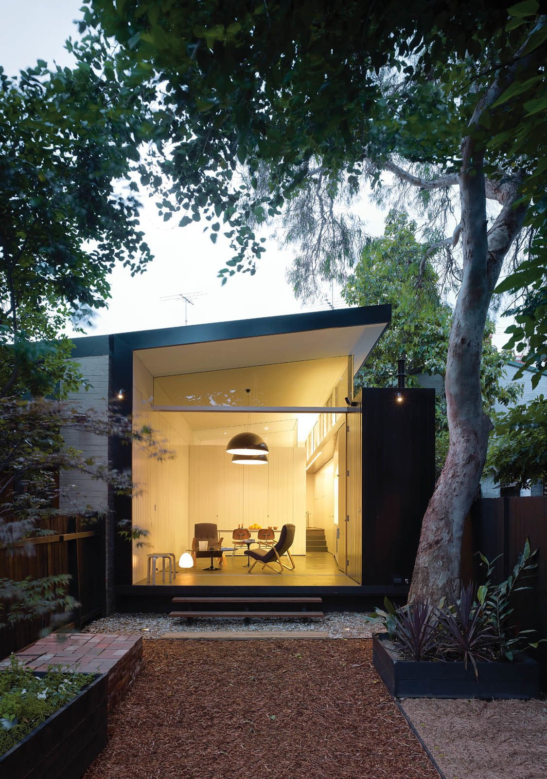 Outdoor  Extension from Back Storied