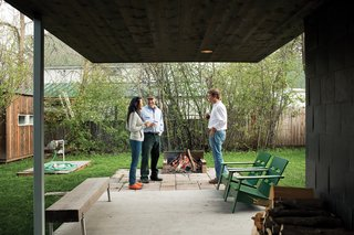 "Sultan of Sit  Even if your carpentry skills peaked in eighth-grade woodshop, reclaimed lumber and a bit of sweat can stand you in good stead when it comes to outdoor furniture. Whitlock created a ruggedly beautiful bench (below) from scratch. He bought a chunk of trestle lumber at a local salvage yard and lag-bolted four Ikea Sultan stainless steel bed legs to its base. ""It took me two hours, including lumberyard drive time,"" he says. ""I spent $70 total."" ikea.com"