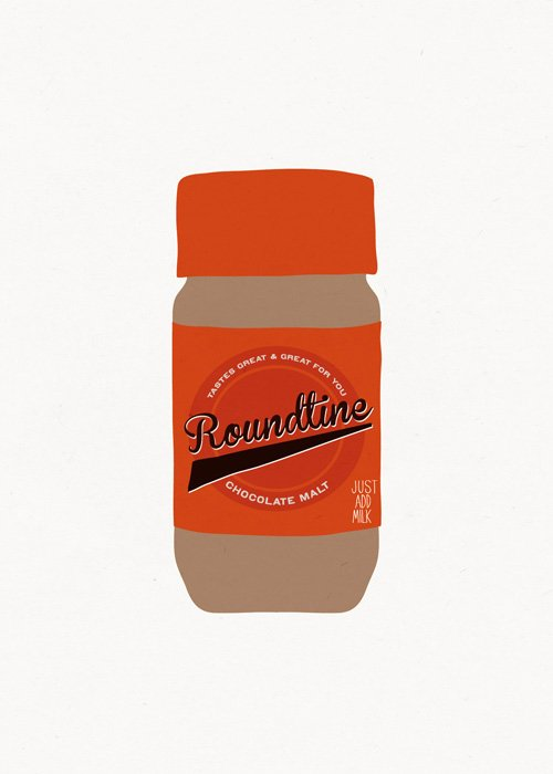 Why don't they call it Roundtine?  Seinfood Posters by Aaron Britt