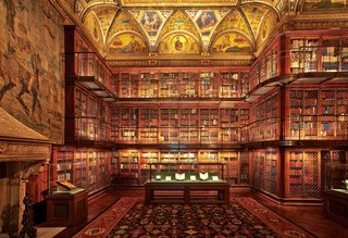 A collection of buildings, The Morgan Library & Museum began as the private library of financier J. Pierpont Morgan (1837–1913). As early as 1890 Morgan had an assemblage of illuminated, literary, and historical manuscripts, early printed books, and old master drawings and prints.