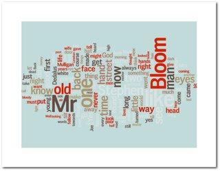 Ulysses word cloud poster from beautifulwordsbeautifulart.com.