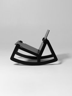 Färg's latest project is this flat-pack rocking chair for Design House Stockholm.