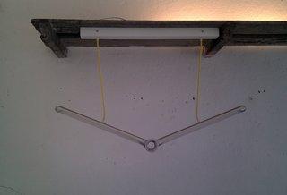 The off position for Sander Mulder's bar light.