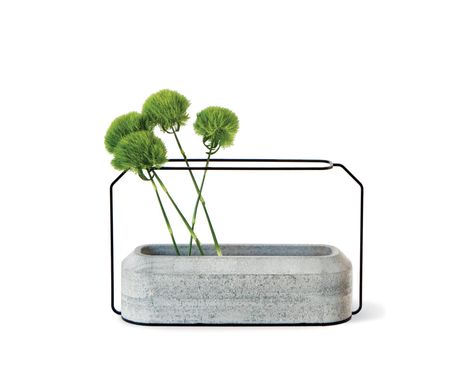 Weight Vases was an early THINKK Studio success.  Concrete Obsessed