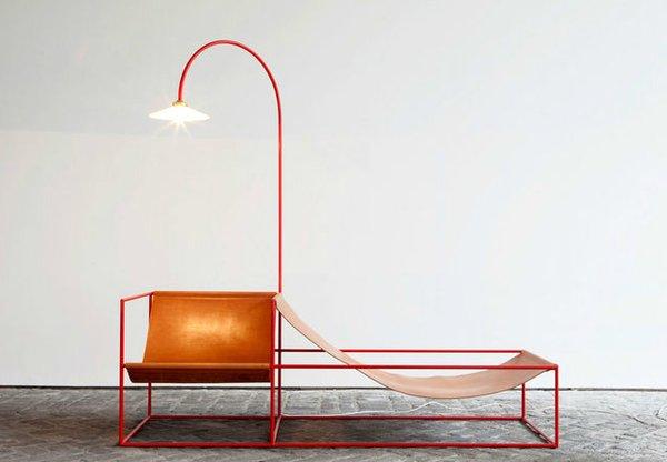 Furniture by Belgian duo Muller Van Severen. Photo by Fien Muller.
