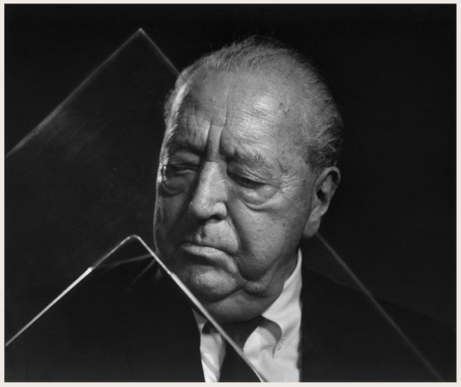 Karsh's portrait of Mies van der Rohe in his Chicago apartment.  Photo 9 of 28 in Here's How to Pronounce the Names of 28 Famous Designers and Architects from Friday Finds 05.18.12