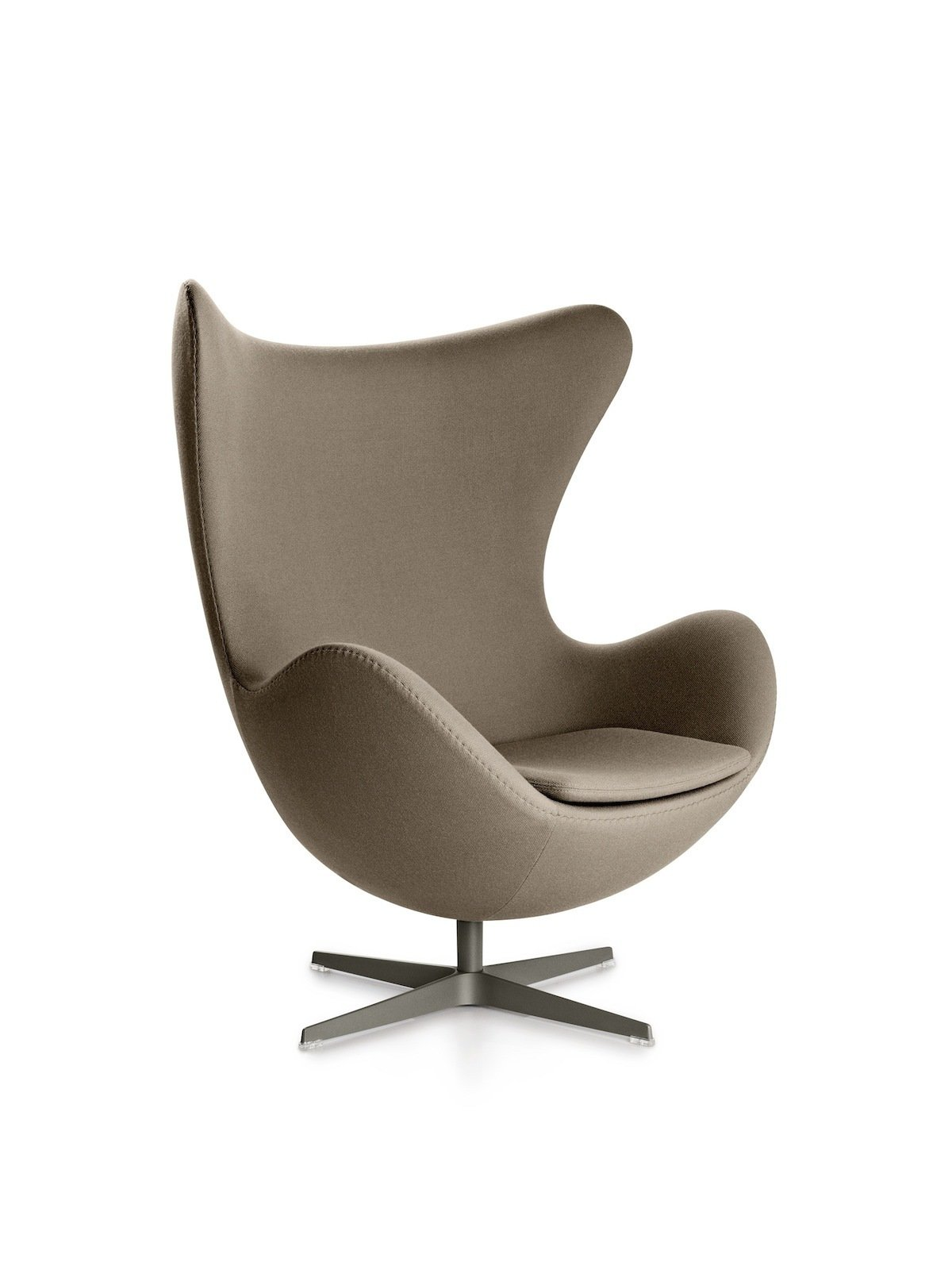 """The Egg Chair, another Arne Jacobsen design—this one from 1958—was originally created for the Royal Hotel in Copenhagen. Would today's numerous """"inspired-by"""" copies really make Jacobsen roll in his grave, as Rosenkvist puts it?  Photo 2 of 4 in Fritz Hansen on Knockoffs and Authentic Design"""