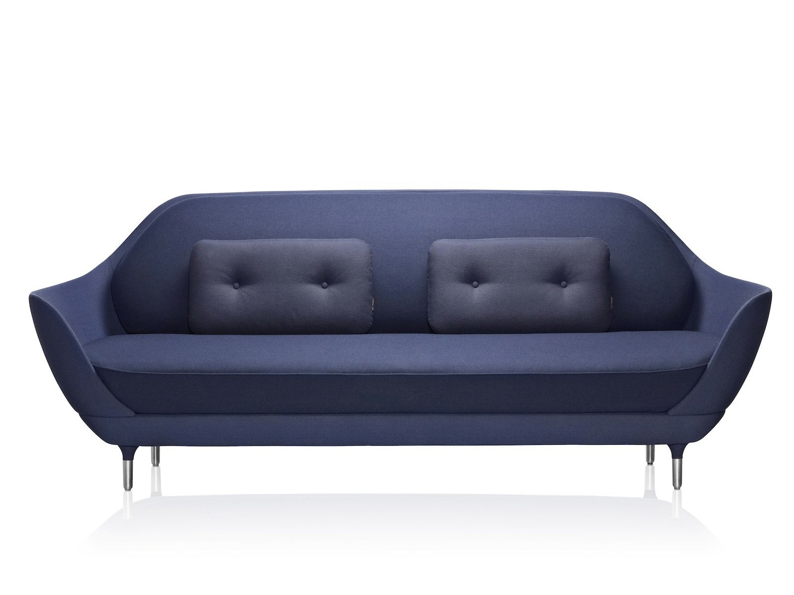 The sleek Favn sofa is a new design by the Spanish designer Jaime Hayon; it's inspired by and constructed similarly to the Egg and Swan chairs.  Photo 4 of 4 in Fritz Hansen on Knockoffs and Authentic Design