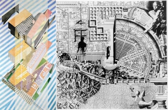 Drawings by Helmut Jahn (left) and Aldo Rossi (right) from The Architectural Review.  Photo 3 of 3 in Friday Finds 06.15.12