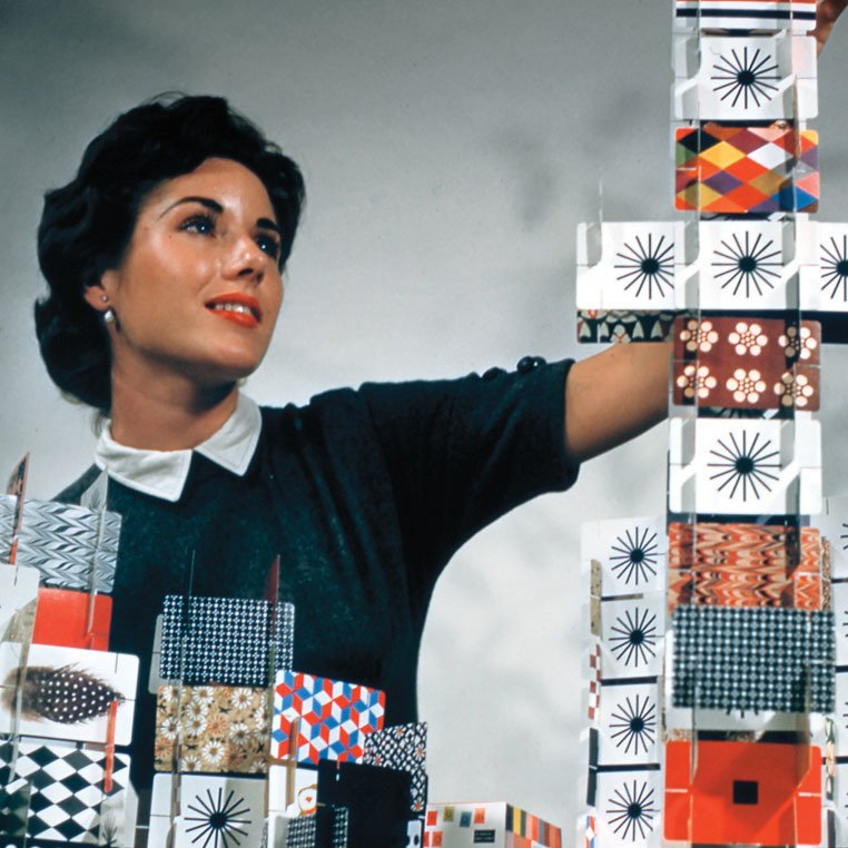 Ray Eames, House of Cards (with Charles Eames), 1952.  Tiny Homes from Designing Women