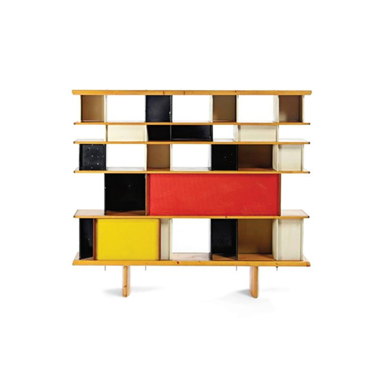 Charlotte Perriand, Mexique bookshelf (with Jean Provué), 1953.  Designing Women by Kelsey Keith