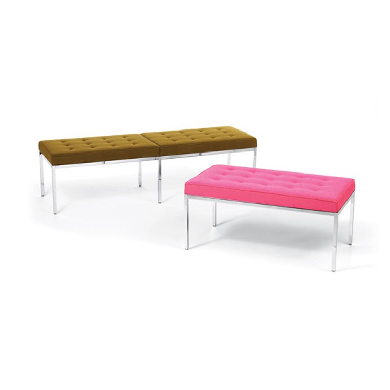 Florence Knoll, Bench, 1954.  Designing Women by Kelsey Keith