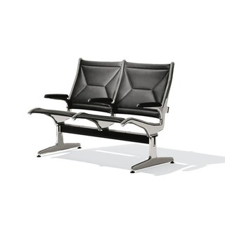 Ray Eames, O'Hare International Airport Tandem sling seating, 1962.
