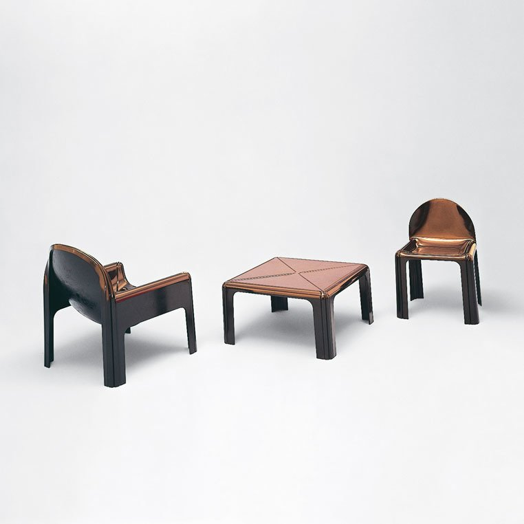 Gae Aulenti, 4794 lounge chair, 1975.  Designing Women by Kelsey Keith