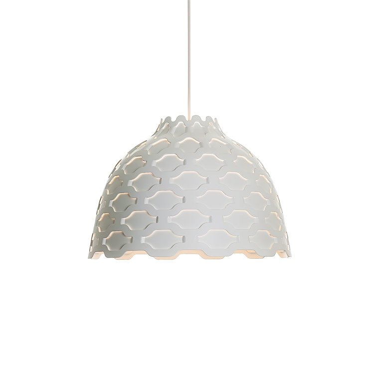 """Louise Campbell, LC Shutters lamp, 2012.  Search """"memoriam ada louise huxtable"""" from Designing Women"""