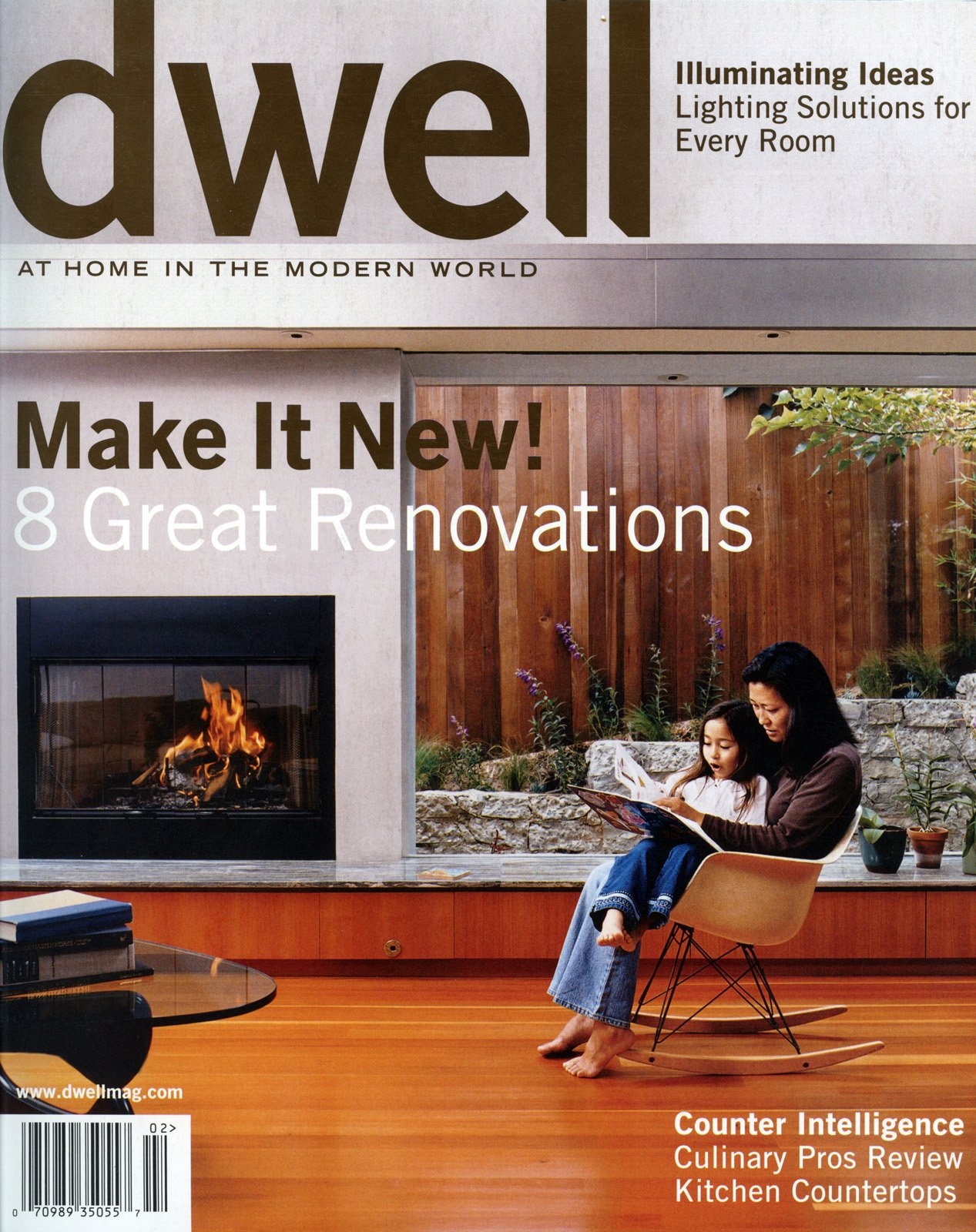 MAKE IT NEW!  8 Great Renovations  January/February 2004, Vol. 04 Issue 03.  Dwell January/February 2004, Vol. 04 Issue 03: Make It New! by Dwell